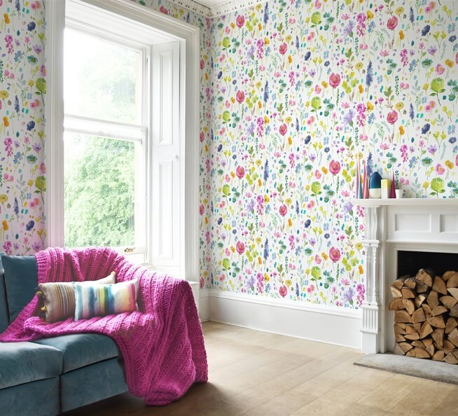 Perth Designer Floral Prints Wallpaper