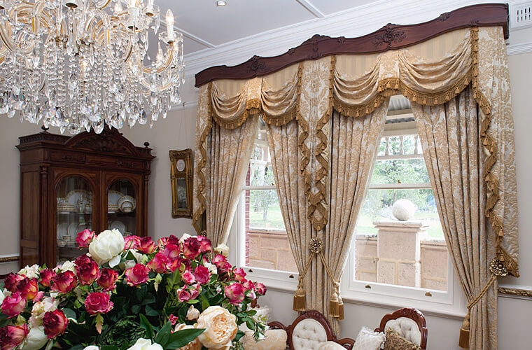 Traditional & Classic Curtains Perth